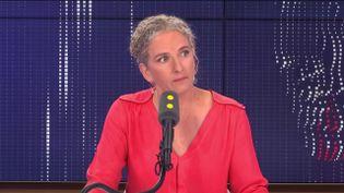 Delphine Batho, ex-ministre de l'Écologie, députée et présidente de Génération écologie. (RADIO FRANCE / FRANCEINFO)