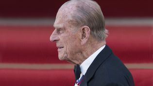 Le prince Philip lors d'une visite officielle en Allemagne, le 24 juin 2015. (ANNEGRET HILSE / SVEN SIMON / AFP)