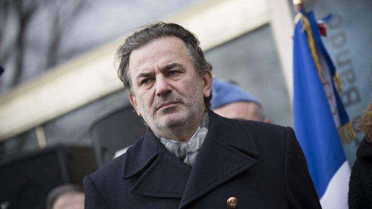 Le maire UMP du 1er arrondissement de Paris, Jean-François Legaret, le 31 janvier 2013. ( MAXPPP)