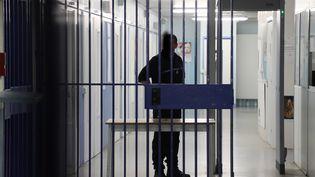 Un gardien de la maison d'arrêt de Gradignan, en Gironde. (Photo d'illustration) (COTTEREAU FABIEN / MAXPPP)