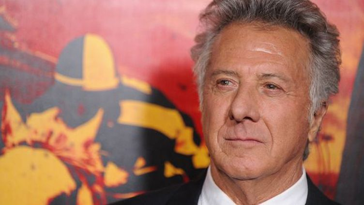 Dustin Hoffman à Hollywood le 24 janvier 2012  (Robyn Beck / AFP)