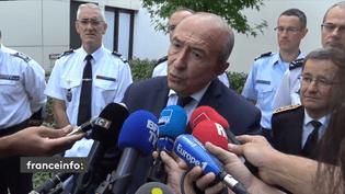 """Le ministre de l'Intérieur, Gérard Collomb, a dit """"regretter"""" la démission de Nicolas Hulot. (GILLES GALLINARO / RADIO FRANCE)"""