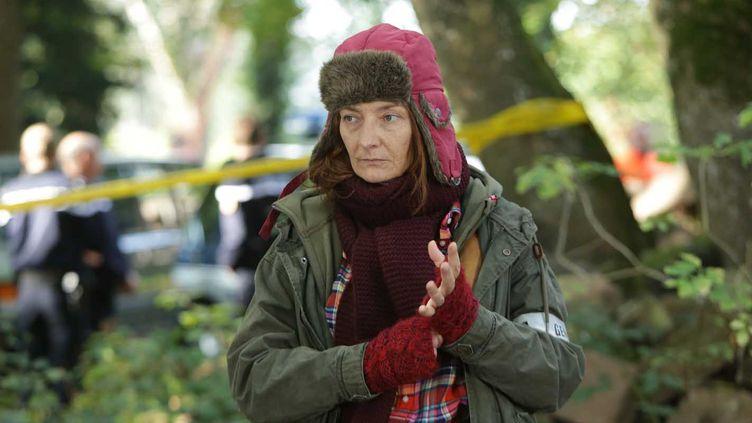 Corinne Masiero en capitaine Marleau : une flic atypique  (Gilles SCARELLA / FTV 2015)