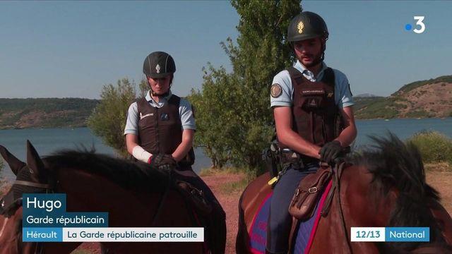 Hérault : la Garde républicaine renforce les patrouilles de la gendarmerie autour du lac du Salagou