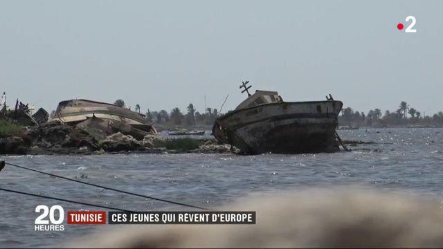 Tunisie : ces jeunes qui rêvent d'Europe