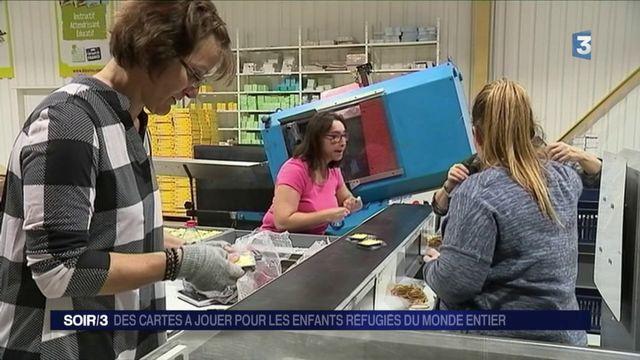 Drôme : des cartes à jouer pour les enfants réfugiés du monde entier