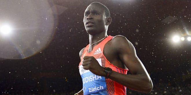 L'athlète kenyan David Rudisha