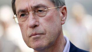 Claude Guéant, l'ex-ministre de l'Intérieur,le 27 mai 2012 à Boulogne-Billancourt (Hauts-de-Seine). (THOMAS SAMSON / AFP)