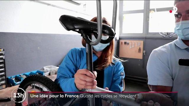 Pas-de-Calais : ils recyclent vos vélos et créent des emplois