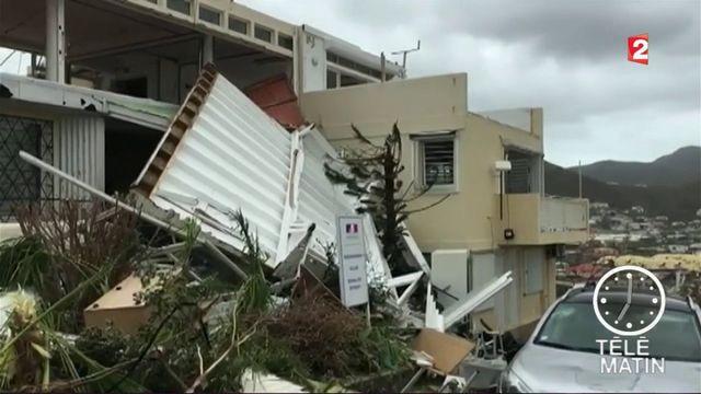 Irma : des dégâts majeurs à Saint-Martin