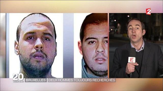 Attentats de Bruxelles : qui sont les hommes toujours recherchés ?