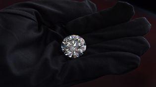 Un diamant d'un collectionneur russe (photo d'illustration). (YURI KADOBNOV / AFP)