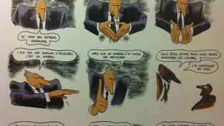 (© Dargaud. Le lecteur croise et recroise ce ministre hyperactif !)