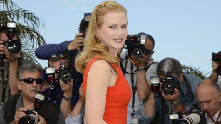 Nicole Kidman à Cannes le 24 mai 2012  (STEPHANE REIX/EPA/MAXPPP)