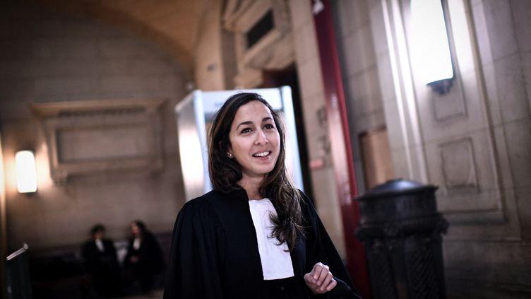 Olivia Ronen, le 19 mars 2018, à Paris. (STEPHANE DE SAKUTIN / AFP)