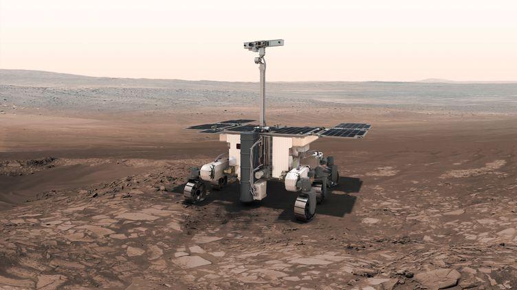 Le rover ExoMars atterrira sur Marsen avril 2021. (ESA)