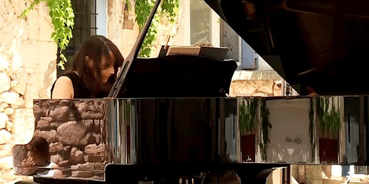 La pianiste professionnelleLidija Bizjak  (France 3 / Culturebox)