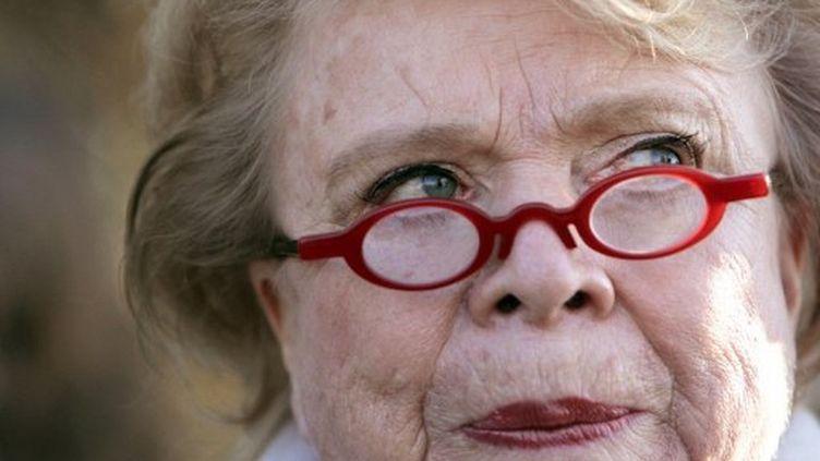 """Eva Joly explique à Libération multiplier les """"handicaps lourd"""". (KENZO TRIBOUILLARD / AFP)"""