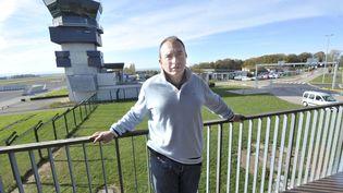 Jean-Philippe Gaillard, alors qu'il était directeur de l'aéroport de Limoges (Haute-Vienne), le 9 novembre 2011. (BRUNO BARLIER / LE POPULAIRE DU CENTRE / MAXPPP)