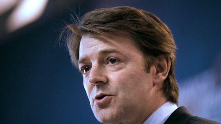 """François Baroin a reconnu une prévision budget 2012 """"trop élevée"""". (ERIC PIERMONT / AFP)"""