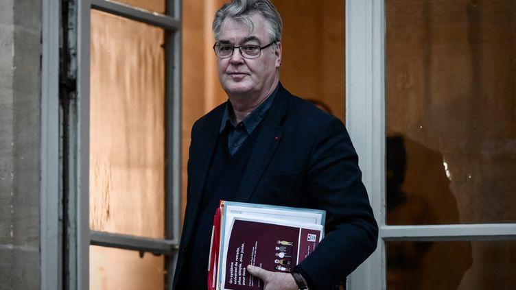 Le haut-commissaire aux Retraites, Jean-Paul Delevoye, à Matignon, à Paris, le 1er décembre 2019. (PHILIPPE LOPEZ / AFP)