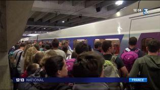SNCF : la pagaille continue gare Montparnasse (FRANCE 3)