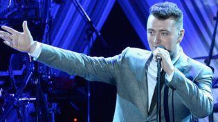 Le chanteur soul britannique Sam Smith, nouvelle tête des Grammys. Ici au gala pré-Grammys le 7 février 2015.  (Kevork Djansezian / Getty Images North America / AFP)