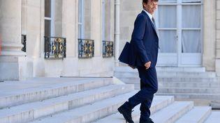 Nicolas Hulot, quittant le Conseil des ministres le 3 août. (JULIEN MATTIA / LE PICTORIUM / MAXPPP)