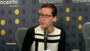 Fabienne Keller, sur franceinfo, jeudi 14 février. (FRANCEINFO)