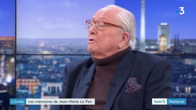 """Jean-Marie Le Pen : """"Il y a un risque pour la France d'être submergé par la vague migratoire"""""""