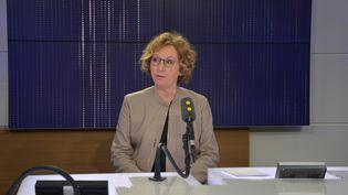 Muriel Pénicaud, ministre du Travail. (JEAN-CHRISTOPHE BOURDILLAT / RADIO FRANCE)