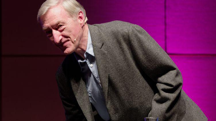 L'écrivain britannique Julian Barnes à Cologne (23 mars 2019) (HENNING KAISER / DPA / AFP)