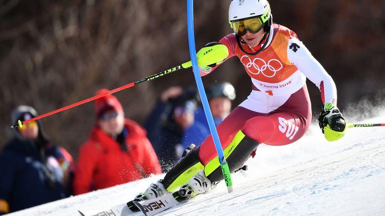La Suissesse Wendy Holdener (FABRICE COFFRINI / AFP)