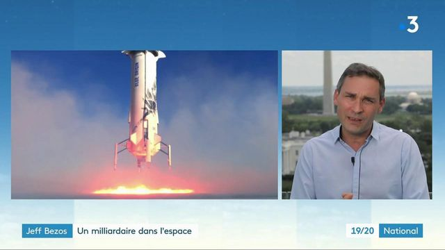 Espace : le milliardaire Jeff Bezos décolle en juillet