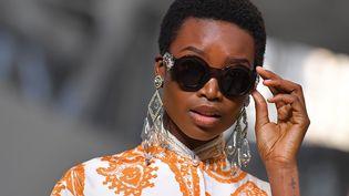 Défilé Etro printemps-été 2018 à la Milan Fashion Week, le 22 septembre 2017 (MARCO BERTORELLO / AFP)