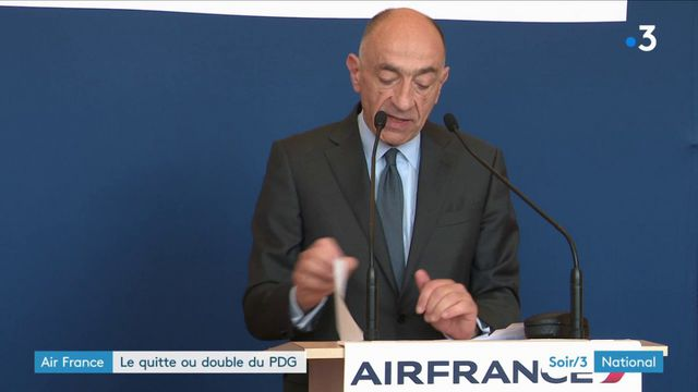 Air France : le PDG joue son va-tout