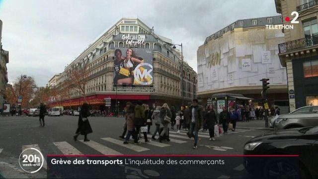 Grève du 7 décembre : les commerçants commencent à s'inquiéter
