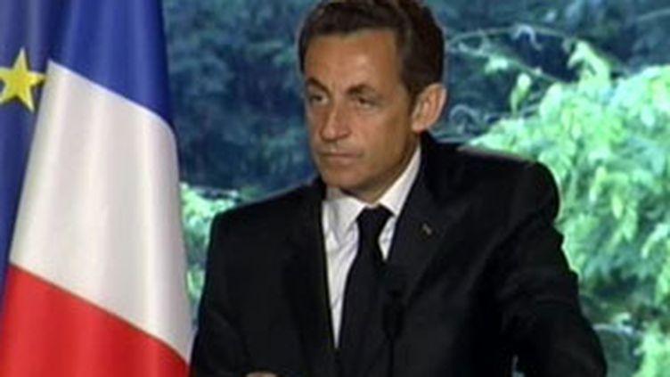 Nicolas Sarkozy à l'Elysée (28/05/2009) (© France)