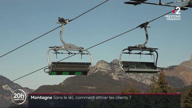Stations de ski : La Clusaz se réinvente pour attirer les clients, malgré la fermeture des pistes
