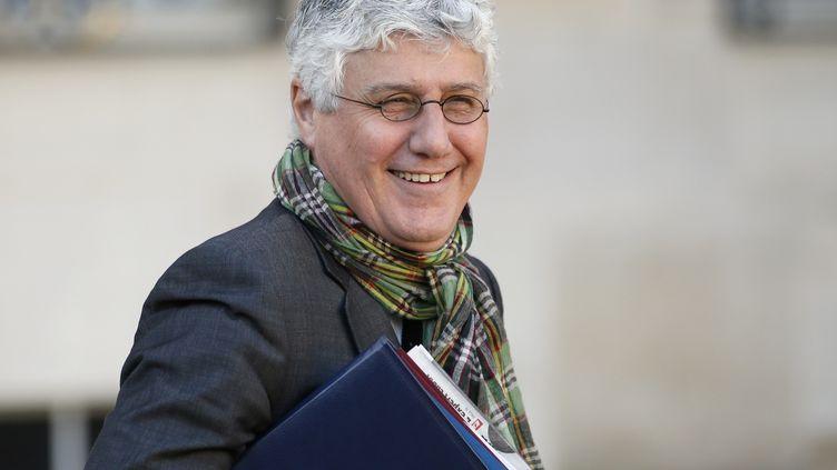 Le ministre de l'Ecologie, Philippe Martin, le 13 novembre 2013. (PATRICK KOVARIK / AFP)
