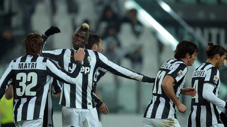 Le bonheur de Paul Pogba, auteur d'un doublé contre l'Udinese