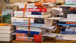 """Une commande de livres en """"click and collect"""" dans une librairie à Besançon. (France Bleu Besançon)"""
