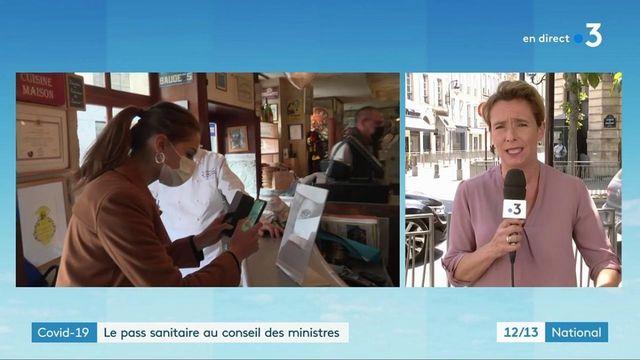 Covid-19 : le pass sanitaire examiné par le conseil des ministres avant le Parlement