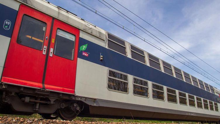 (Toujours des perturbations sur le RER C © Patrick Leveque/SIPA)