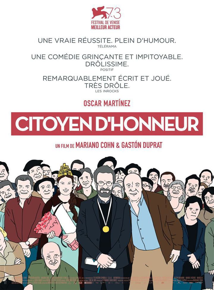 """""""Citoyen d'honneur"""" : l'affiche  (Memento Films Distribution)"""