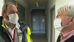 Couvre-feu renforcé : réaction des spécialistes de santé à Metz (France 2)
