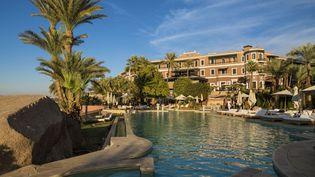 """Le prestigieux hôtel """"Old Cataract"""" au bord du Nil à Assouan en Egypte. (DOZIER MARC / HEMIS.FR / HEMIS.FR)"""