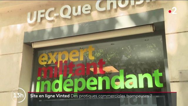 """Commerce en ligne : l'UFC-Que Choisir poursuit Vinted pour """"pratique commerciale trompeuse"""""""