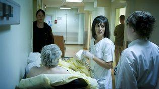 Soins à l'hôpital Beaujon en 2008 (AFP/Martin Bureau)