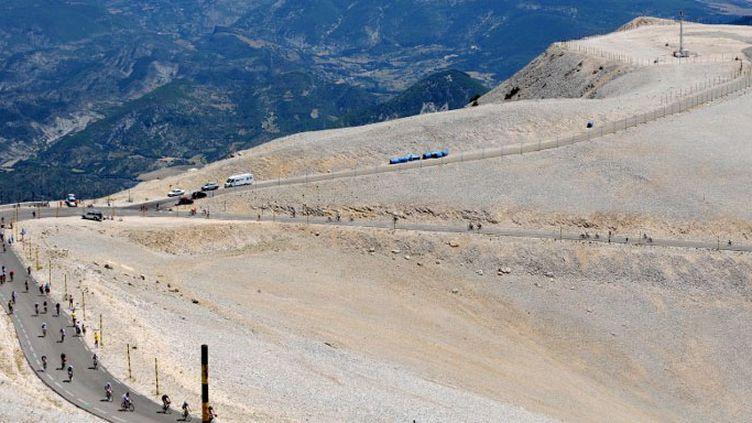 Le Mont Ventoux (JEAN-PIERRE CLATOT / AFP)